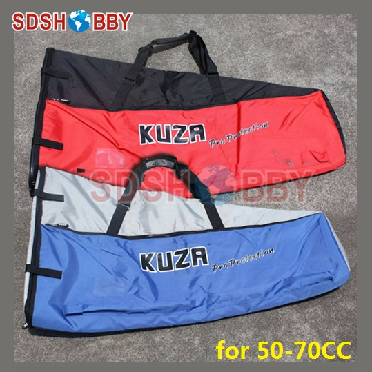 New KUZA Protection Wing Bag for 50-70CC Gasoline Airplane-Blue/ Red Color колье only happy колье