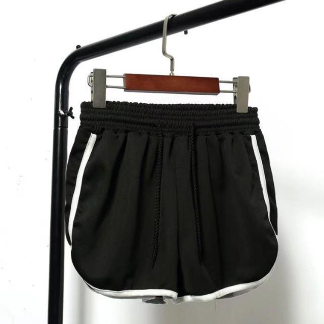 Satin Styled High Waist Shorts