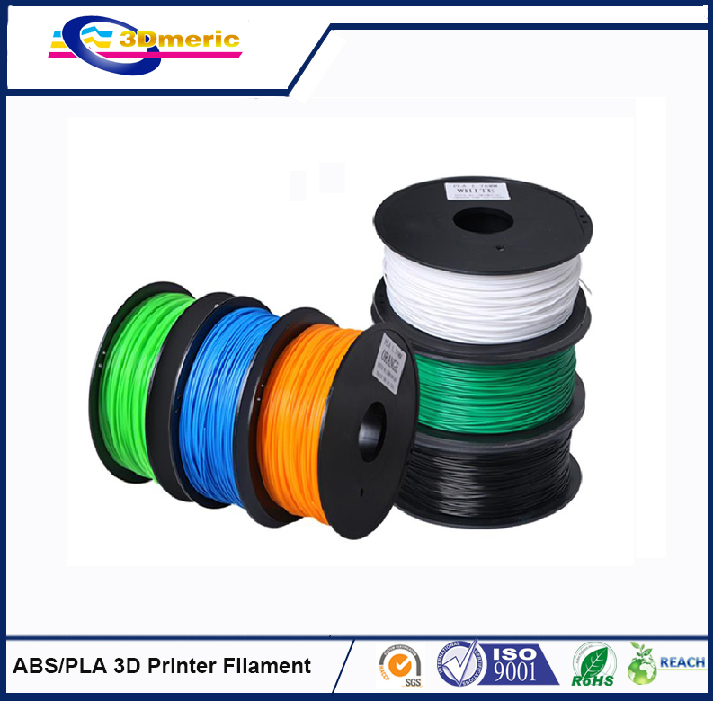 2016 Chinese best -selling   PLA 3D Printer Filament in a lower price flsun 3d printer big pulley kossel 3d printer with one roll filament sd card fast shipping