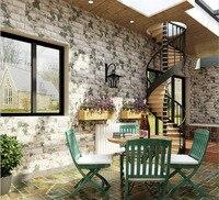 Brick Grottoes PVC Waterproof Stone Wallpaper For Living Room Brick Wall Paper Decorative Wall Paper Bedroom