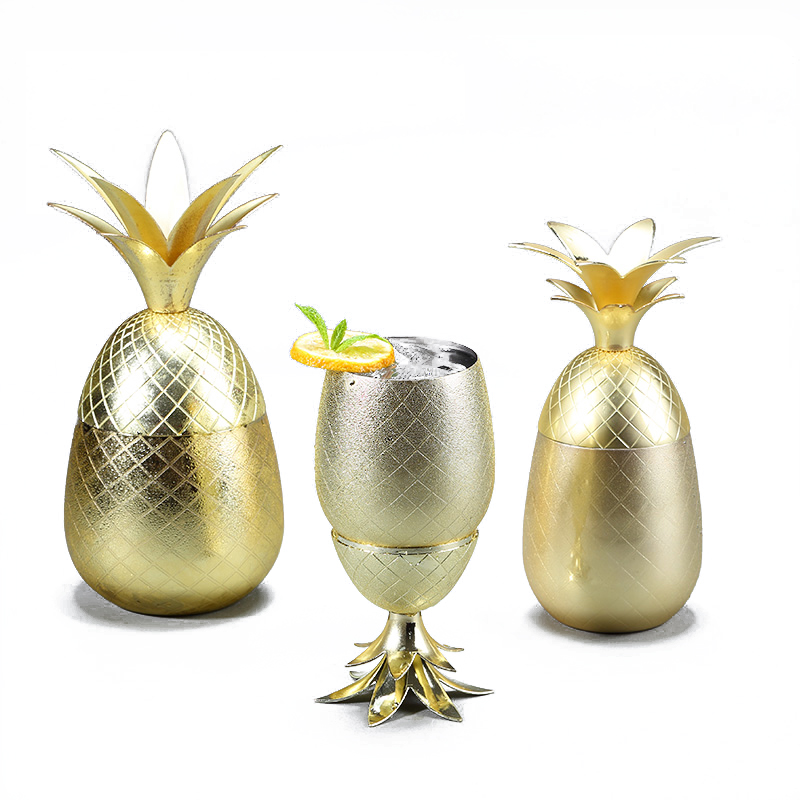 Mug Moscow Mule Mug Available in 3 color Pineapple Tumbler