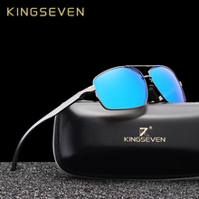 KINGSEVEN 2019 Aluminum Brand Fashion Men Women Polarized Sunglasses UV400 Protection Sun Glasses Male Driving Eyewear Oculos стоимость