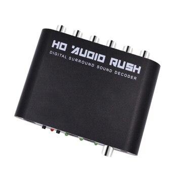 Giải mã DTS/AC-3 nguồn để DTS bộ giải mã 5.1 kênh Dolby giải mã âm thanh kỹ thuật số chuyển đổi SPDIF đầu vào đến 5.1 kênh (MỸ CẮM)