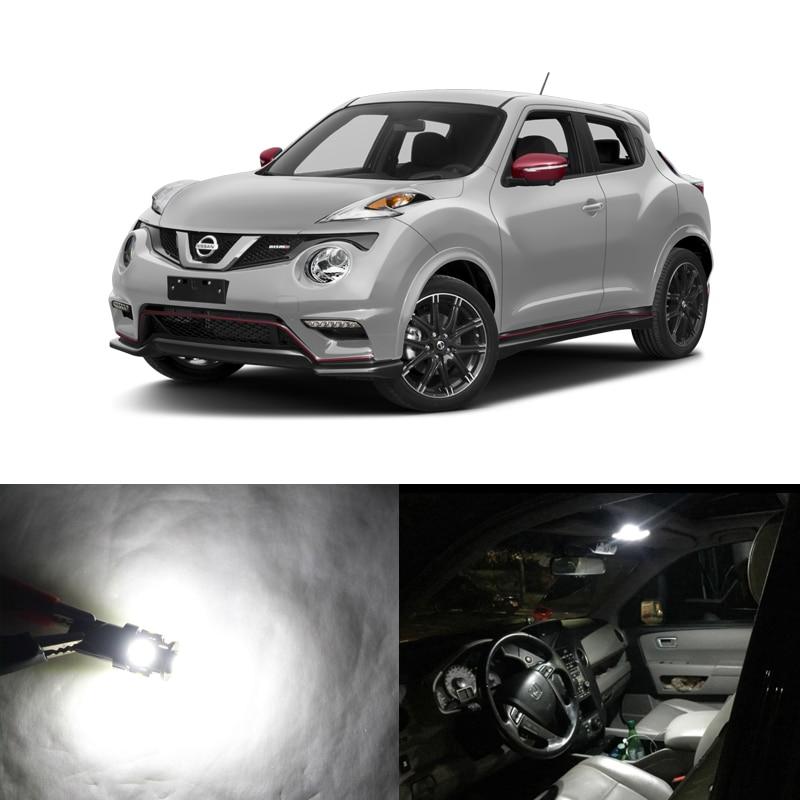 Nissan Juke 2016: 6PCs CAN Bus Error Free Led Interior Package Light Kits