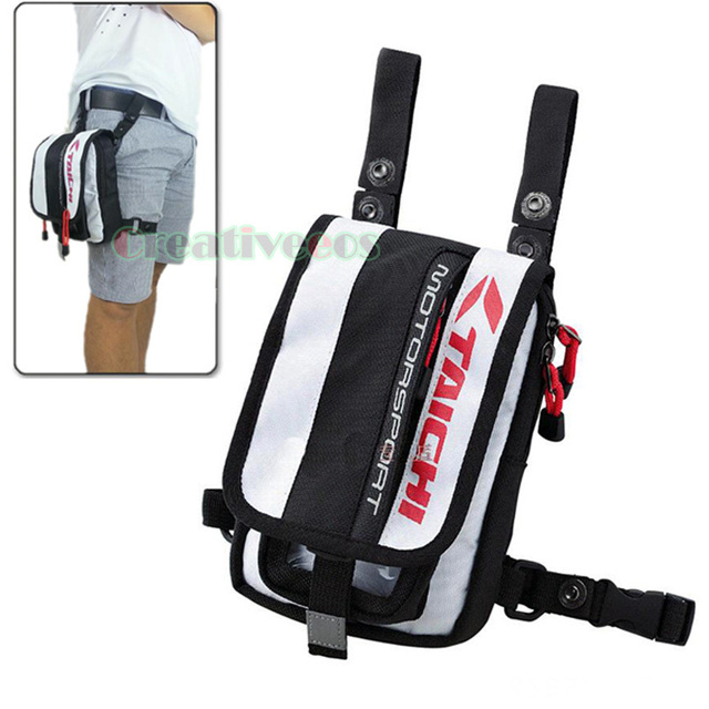 Men's Oxford Travel Motorcycle Riding Messenger Cross body Hip Bum Belt Fanny Pack Waist Leg Thigh Drop Bag