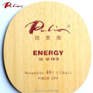 Image 2 - Palio Hoja de tenis de mesa oficial energy 03, especial para más de 40, nuevo material, raqueta de tenis de mesa, bucle de juego y ataque rápido de 9 capas