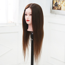 100% Human Hair Mannequin Head Great Quality Hairdressing For Sale Nice Female