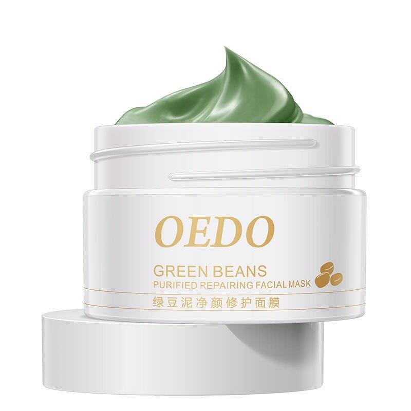 font b Face b font Mask Repair maquiagem Whitening Mung Bean Mineral Make up Mud