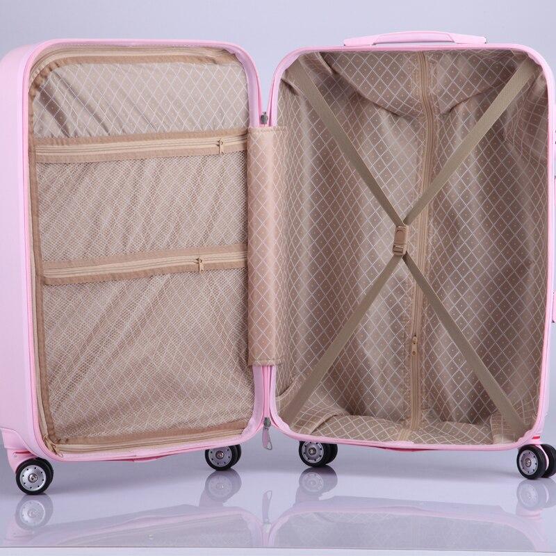 Оптовая продажа! 20 дюйм(ов) ABS Hardside Футляр тележки для багажа на Uninversal колеса, прекрасный Корея модные Diamond камера для девочки