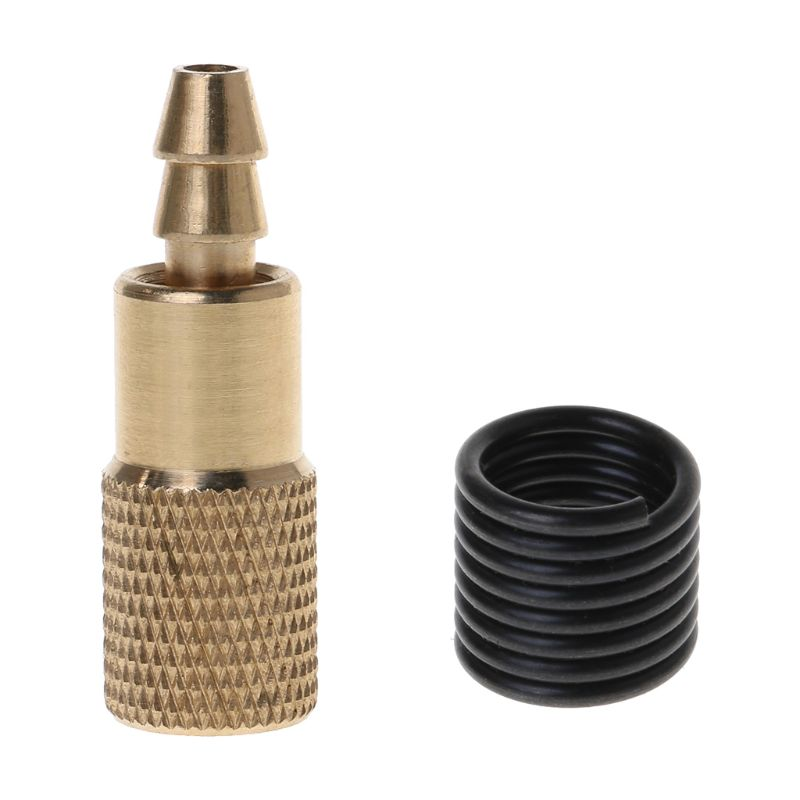 1PC Car Auto Brass 6mm Tyre Wheel Tire Air Chuck Inflator Pump Valve Clip Clamp Connector Adapter