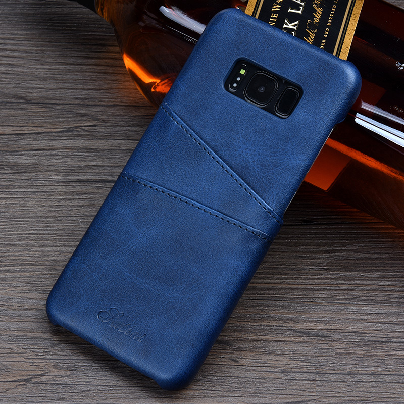 Neue Mode Iteuu S8/s8plus Neue Retro Ledertasche Für Samsung Galaxy S8 S8 Plus Cases Card Slot Hohe Qualität Luxus Zurück Abdeckung Handys & Telekommunikation Angepasste Hüllen