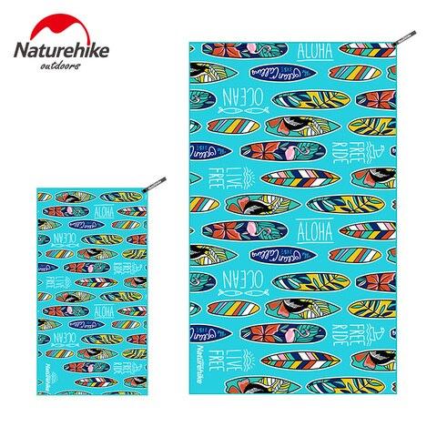 Toalha de Microfibra Naturehike Secagem Rápida Viagem Praia Esportes Toalha Cobertor Banho Piscina Acampamento Yoga Ginásio Washcloth Nh19y004-j