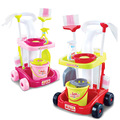 Fun Cleaning Play Set Kids Girls Housekeeping Tools Hygiene Pretend Toys For Children Kitchen Toy Birthday Gifts TF0137