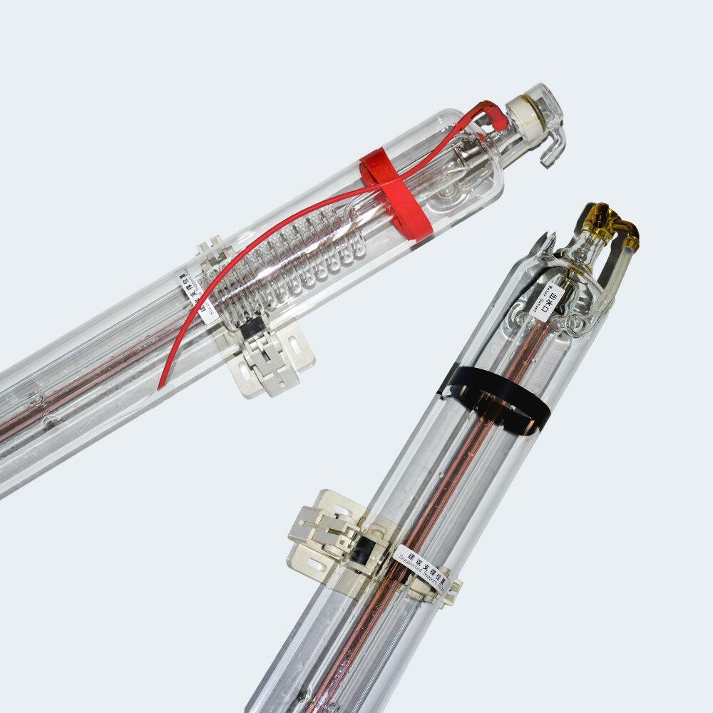 2 pièces 80 W tube laser 1600mm Avec caisse d'emballage en bois