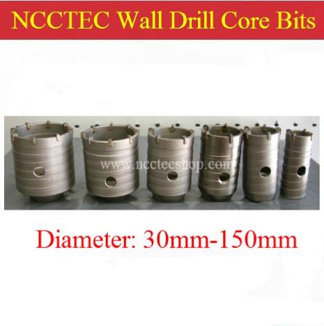 75mm 3'' CHINA NCCTEC ceramic carbide wall drill core bits cutters NCW75 | FREE shipping  цены