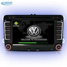 Vw volkswagen coches reproductor de dvd polo golf passat b6 b5 jetta tiguan touareg bora radio audio multimedia gps BT 8 pulgadas regalo