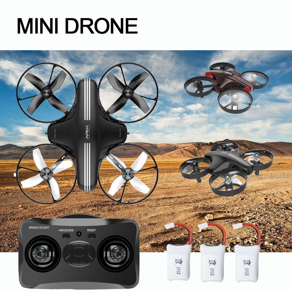 Mini Drone RC Quadcopter Remote Control 4CH 2.4G 6-Axis drone 1