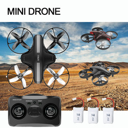 Mini Drone RC Quadcopter Remote Control 4CH 2.4G 6-Axis Helicopter Altitude Hold Dron Model Headless Mode Toy for Kids Adults
