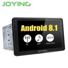 Joying Android 8,1 2 Дин радио плеер с DSP 4 Гб + 32 gps универсальный головное устройство встроенный г модуль поддержка 3g/4 SWC аудио