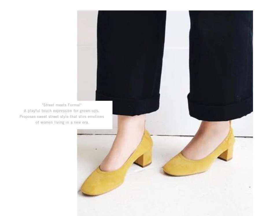 Shoes Women Genuine Leather Fashion Office and Career Rounded Toe 2-inch Block Heel Fashion Office Lady Pumps Size 34-41, K-307 27