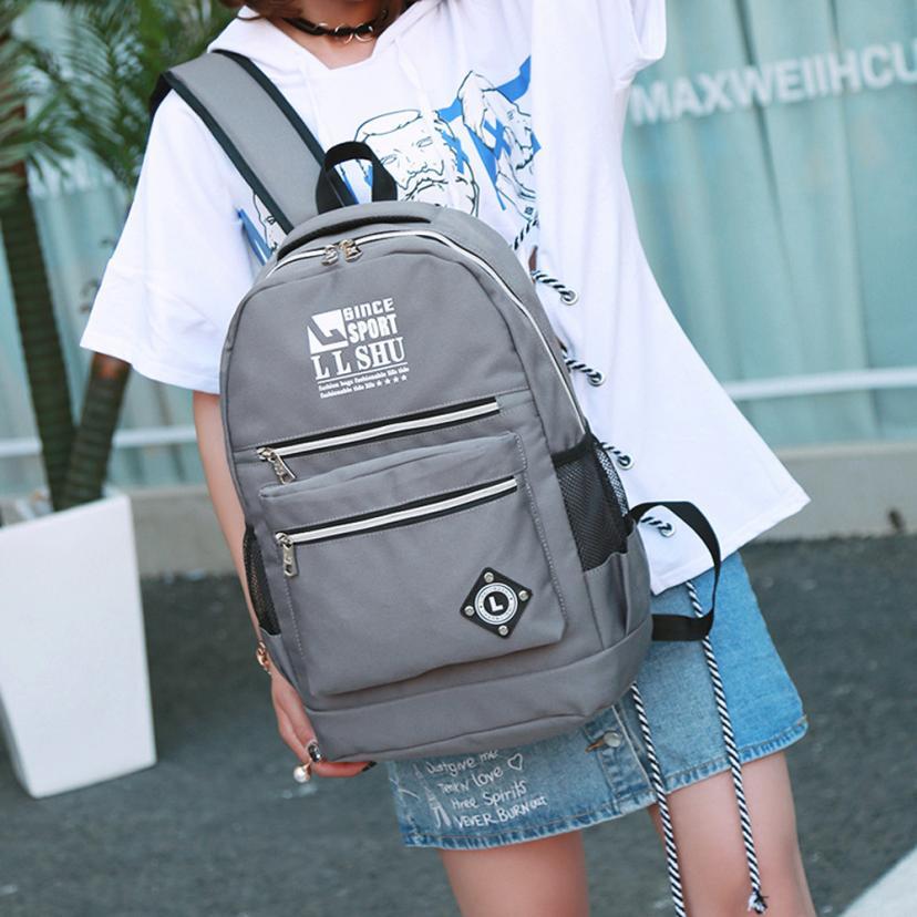 Backpack female Women Purse Teenage Bags Girl Boy Backpacks Shoulder Student School Bags Designer Big Travel
