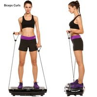 Ancheer J way new Fitness Equipment Vibration Platform Workout Machine Exercise Equipment Body Building