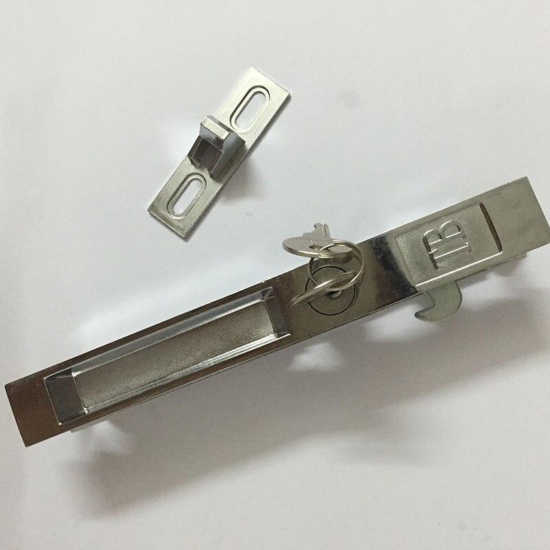 ᓂ1 piezas de bloqueo de doble cara de aleación de aluminio puertas ...