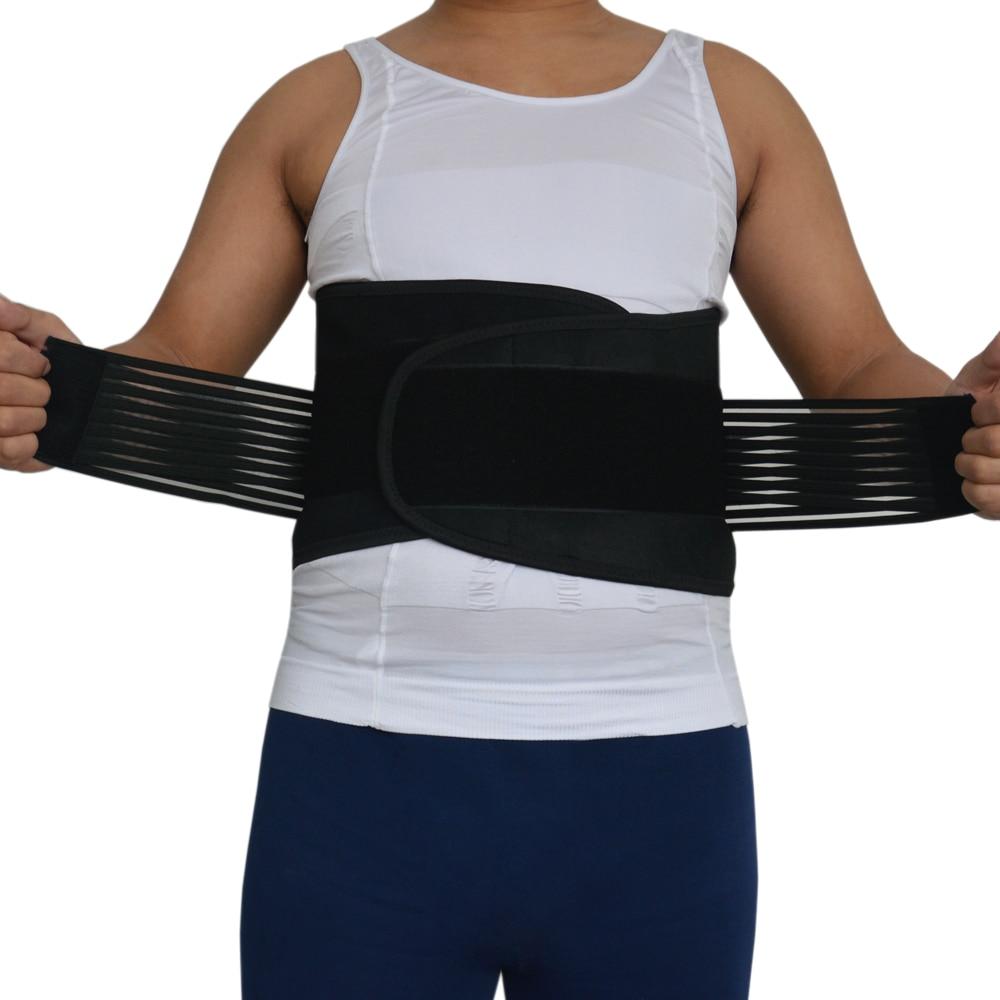 Adjustable Slimming Exercise Belt Men Women Weight Back Brace Sports Waist Support Safety Gym Belt Back Protector S-4XL