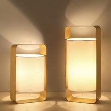 купить Nordic modern simple lighting creative personality desk fashion bedroom bedside lamp Table Lamps дешево