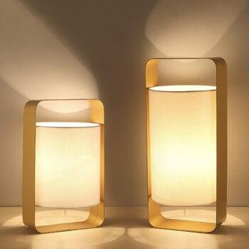 LED Desk lights Nordic modern lighting fixtures home illumination bedroom bedside luminaires Nordic living room deco table lamps