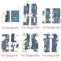 Для Doogee DG280 F5 S60 X10 X20 X30 X60L Y8 F7 Pro Mix 2 USB разъем для зарядки и зарядки гибкий кабель