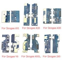 ل Doogee DG280 F5 S60 X10 X20 X30 X60L Y8 F7 الموالية مزيج 2 USB شحن الطاقة موصل التوصيل ميناء حوض الكابلات المرنة