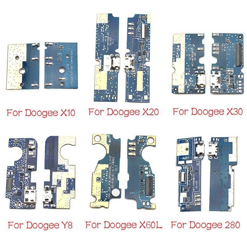 Para Doogee DG280 F5 S60 X10 X20 X30 X60L Y8 F7 Pro Mix 2 USB Power Carregamento Plugue Porta Do Conector doca Cabo Flex