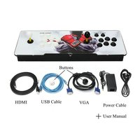875 в 1 дизайн дома Мультиплеер Аркада игровой консоли контроллера комплект двойной джойстик для ТВ и мониторы Best подарок