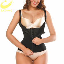 LAZAWG ผู้หญิงเอว Cincher Tummy ควบคุมเข็มขัด Neoprene เหงื่อซาวน่าเสื้อกั๊กลดน้ำหนัก Slimming Shapewear Body Shaper กับ Hook