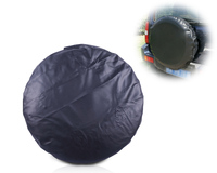 beler New 1Pc Pure Black Universal Spare Wheel Tire Tyre Soft Cover 33