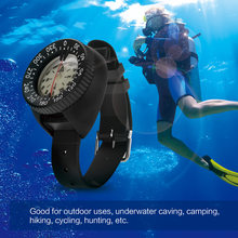 Outdoor Compass Professional Diving Compass Waterproof Navigator Digital Watch Scuba Compass for Swimming Underwater(China)
