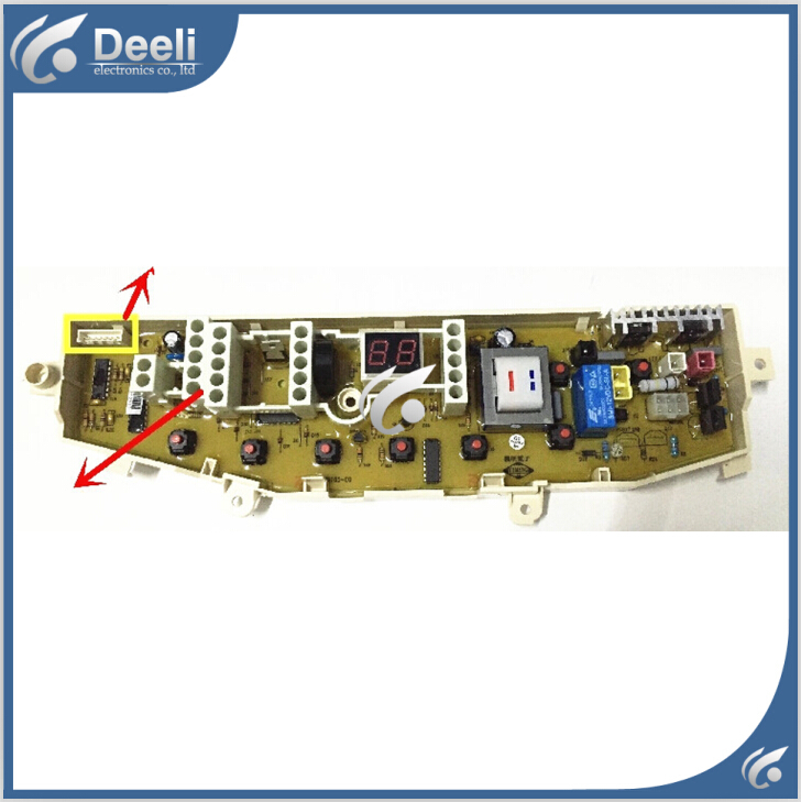 Free shipping 100% tested new for Samsung washing machine board pc board for SAMSUNG MFS-XQB7T85-C0 Computer board on sale 100% tested new for electrolux washing machine board zwt6011dw zwt5011dw motherboard on sale