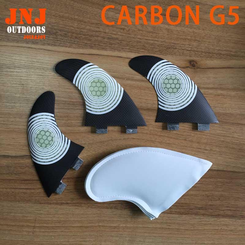 ճամփորդել տախտակները ՝ ածխածնի FCS տերևներով, G5 M Future M fin G5 fcs fins
