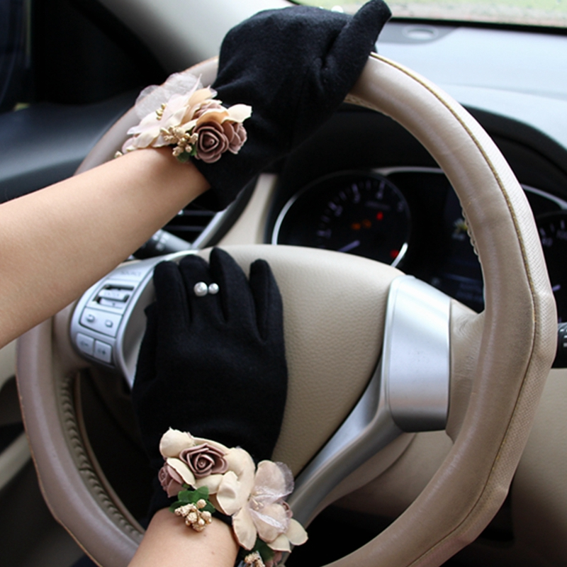 Brand Gloves Winter Women Gloves Cashmer