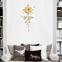 #s Wall   clock   fashion creative   clock     clock   and mirror wall   clock   Personality beautiful and nice high quality