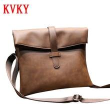 2016 High Quality PU Leather Men's Crossbody Bags Hot Sale Male Shoulder Bag Man Vintage Casual Travel Messenger Bags