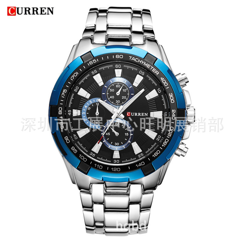 DIDUN Men Watches Top Brand Luxury Quartz Watch Rosegold Male Fashion Business Watch Shockproof 30m Waterproof