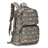45L Molle System Bags Tactical Backpack Army Fishing Backpack Multifunctional Outdoor Travel Military Backpack