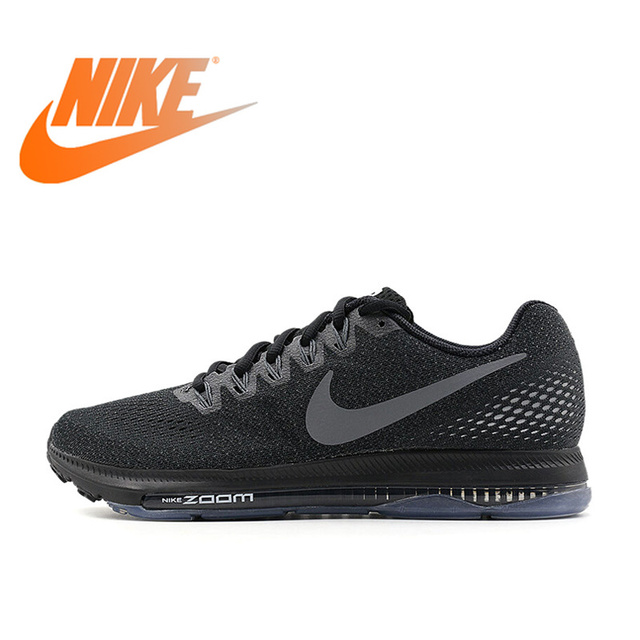 Original Authentic Nike ZOOM ALL OUT Breathable Men s Running Shoes Sports  Sneakers Comfortable Fast Durable Low Top 878670-001 52acce29748d