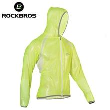 ROCKBROS Waterproof Hiking Jackets TPU Raincoat Cycling Jersey Rain Coat Bike Bicycle Jersey Fishing Men Women Camping Jackets