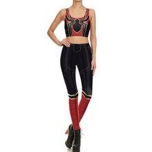 Spiderman Bodysuit Bra Suit Cosplay Costume Halloween For Woman Top Jumpsuits