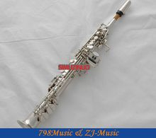 Professional Nickel Plated Eb Sopranino saxophone sax low Bb to high E With Case
