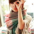 High Quality 2016 New winter Thickening Casual Plaid Scarf autumn Women Shawl Scarf Warm Female Cashmere Pashmina cachecol tasse