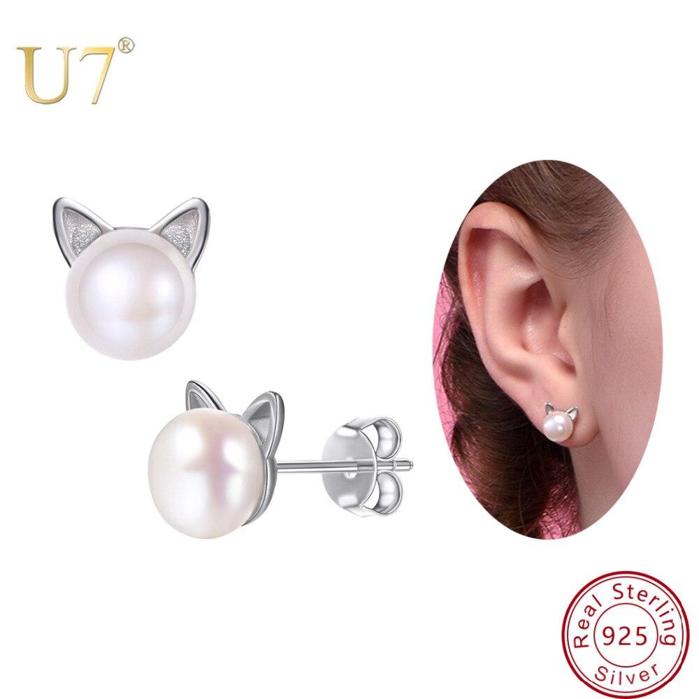 Souris Boucles D'oreille Argent Sterling 925 BEST DEAL Simple Bijoux Cadeau USA Vendeur Boucles d'oreilles Autres